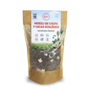 Muesli choco y chufa ecológico Chufas Bou