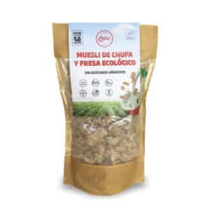 Muesli fresa y chufa ecológico Chufas Bou