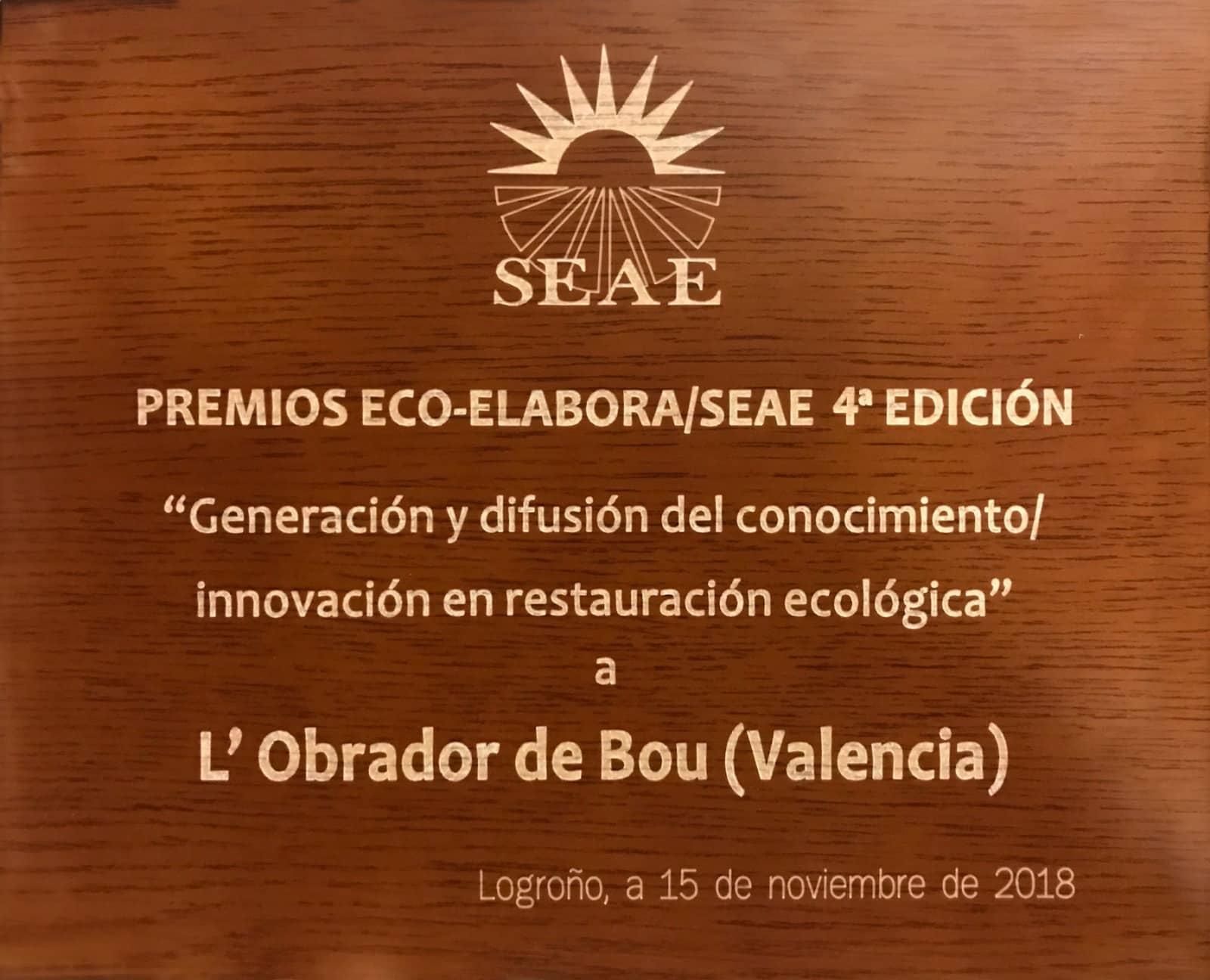 Premio Eco-Elabora 2018